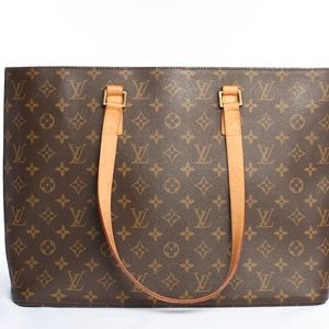 Authentic Louis Vuitton Monogram Luco Tote